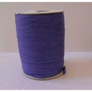 Paper Ribbon Purple Raphia 200 yds Matte Craft